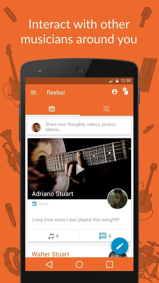 fleeber - Musicians Network- screenshot