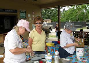 Photo: Mary Lou Pasley, Mary Rains, and Laura Brown    HALS 2009-0919