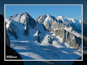 Photo: Aiguille du Chardonnet, Aiguille Verte et Mont‐Blanc
