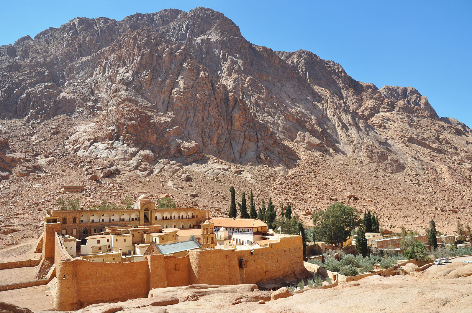 St. Catherine's Monastery: Friendship between Christians and Muslims
