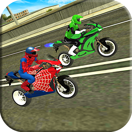 Bike Alien Hero Stunt Simulator - Super Driver
