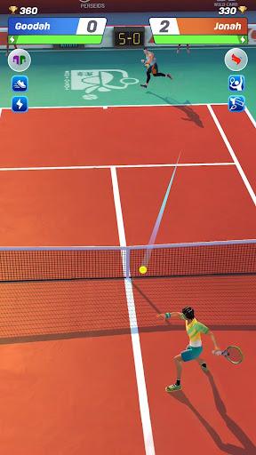 Tennis Clash: 3D Sports - Jeux Gratuits APK MOD screenshots hack proof 2