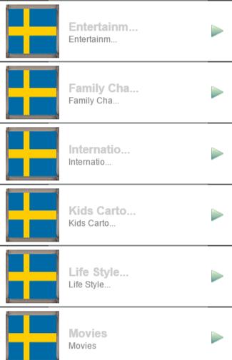 Sweden TV Sat Info