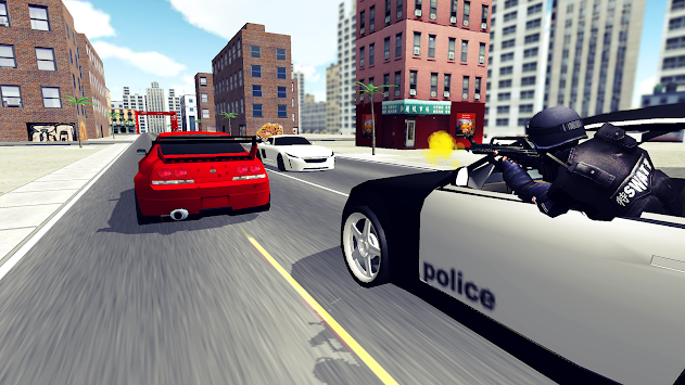 Police Car Chase 3D APK screenshot thumbnail 1