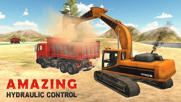 Heavy Excavator Simulator PRO apk screenshot