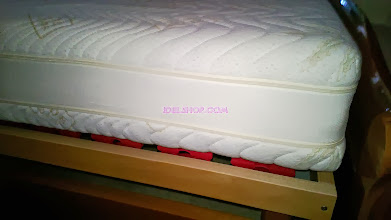 Photo: dettaglio fascia traspirante materasso doppia cerniera