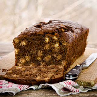 Chocolate Peanut Butter Chip Quick Bread