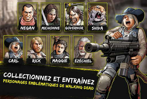 The Walking Dead: Road to Survival fond d'écran 2