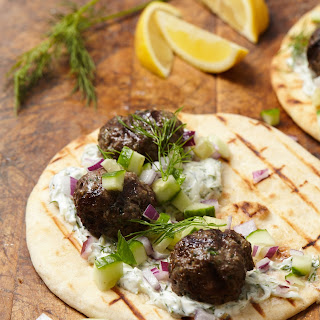 Beef Kofta with Tzatziki Recipe