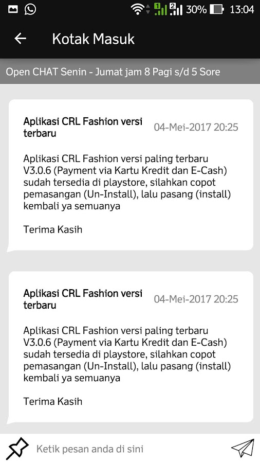 CRL Fashion Surabaya- screenshot