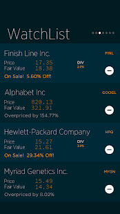 Value Line- screenshot thumbnail
