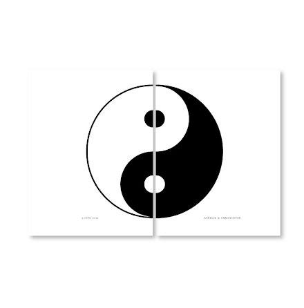 PARPOSTERS - YIN & YANG 2 st posters