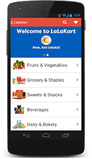 LaLaKart - Grocery Shopping- screenshot thumbnail