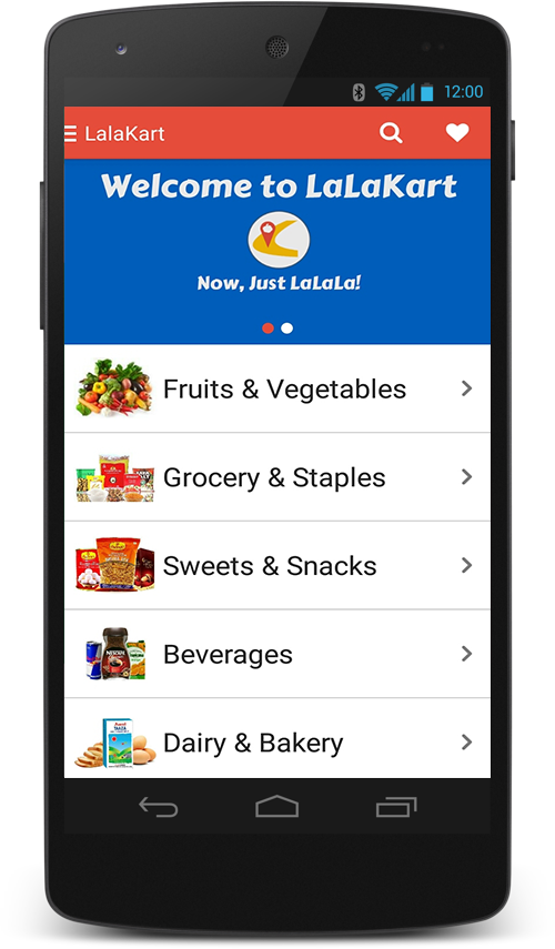 LaLaKart - Grocery Shopping- screenshot