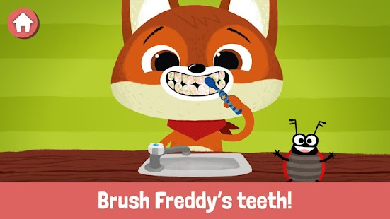 WoodieHoo Brushing Teeth Screenshot