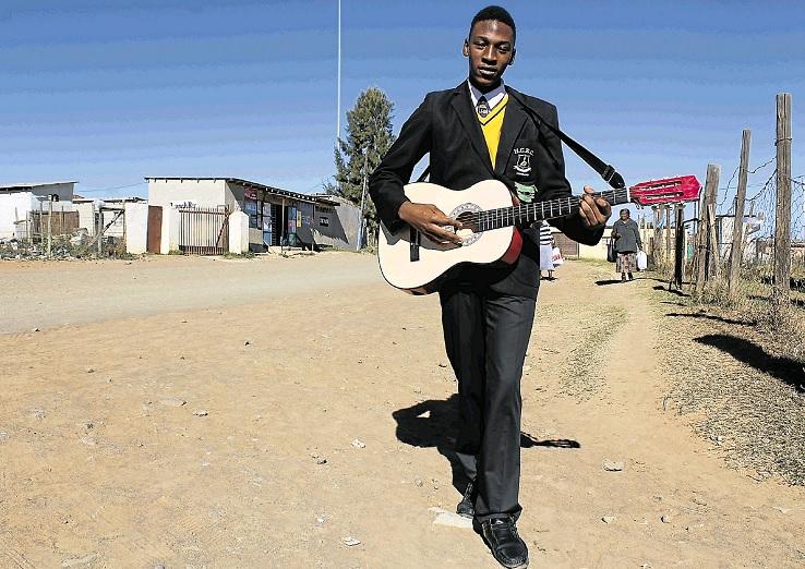 Holy Cross High school Grade 11 pupil Inga Mfono, AKA OBU Mxhosa, has  released