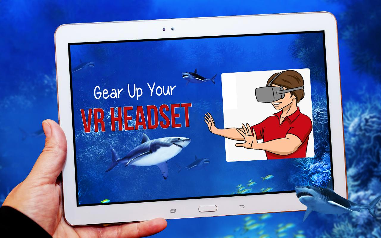 Blue Whale Shark Virtual Reality ( VR )- screenshot