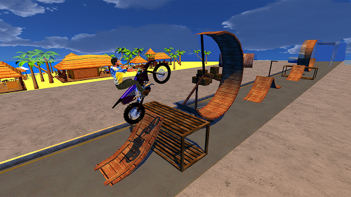 Racing Bike Stunts & Ramp Riding 1.6 screenshots 2