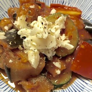 Zucchini and Eggplant Melange