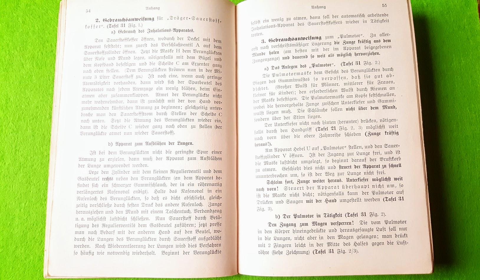 Erste Hilfe bei Unglücksfällen – Der Samariter – 1914 - I. Der Leitfaden