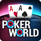 Poker World - Offline Texas Holdem icon