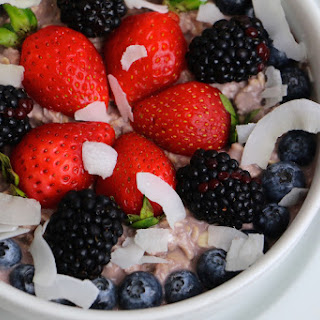 Berry Beautiful Overnight Oats