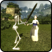 Skeleton Knight Simulation 3D