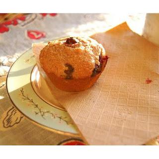 Blue Cornmeal Muffins.