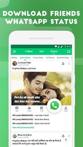 VidStatus app - Status Videos & Status Downloader 2.7.7 screenshots 5