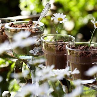 Chocolate Custard Pudding.