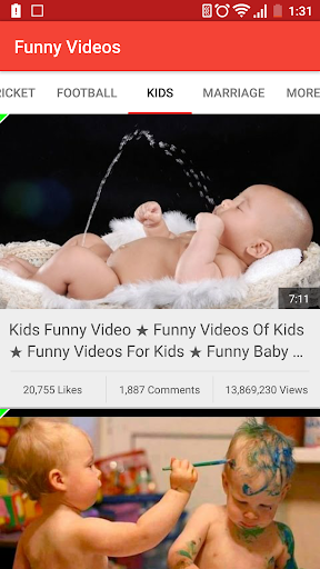 Funny Youtube Videos 1.0 screenshots 1