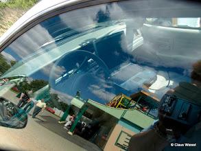 Photo: Original LAPD Streifenwagen Police Interceptor Ford Crown Victoria Mit Laptop zur sofortigen Überprüfung von Personen.