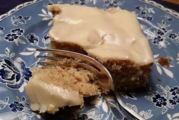 ~ Apple Crumble Cake ~ Recipe