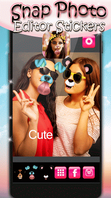 Snap Photo Editor Stickers - screenshot