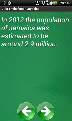 Jill's Trivia facts: Jamaica