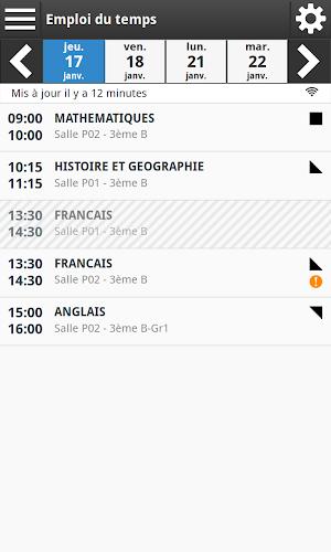 Mon Bureau Numérique Android App Screenshot