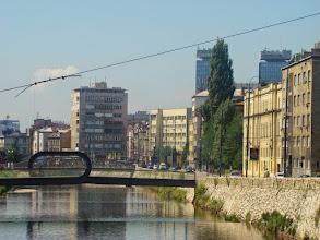 Photo: Sarajevo - most Festina Lente, spiesz się powoli - BiH