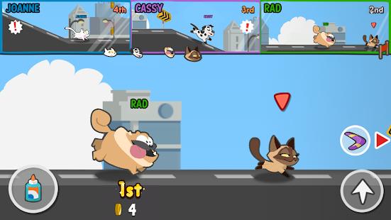 Pets Race – Fun Multiplayer PvP Online Racing Game 13