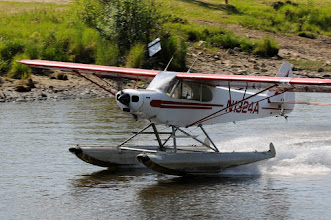 Photo: Float plane landing on Chena river