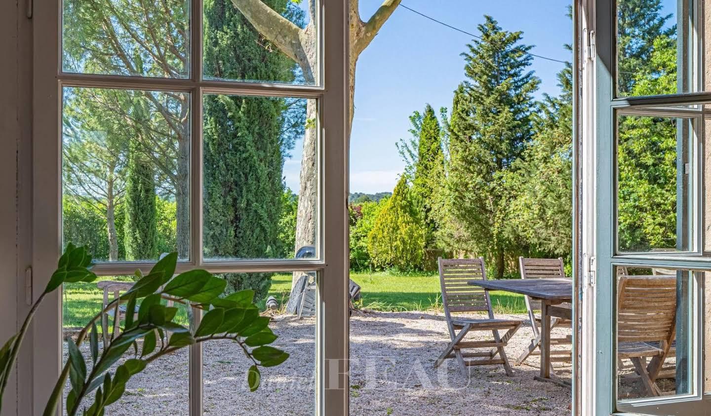 Propriété avec jardin Puyricard