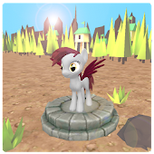 Little run pony 3D
