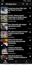 Winnipeg News screenshot thumbnail