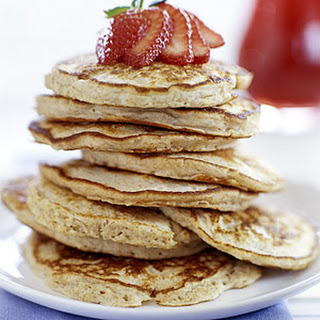 Honey-Oat Pancakes