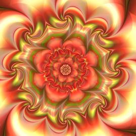by Cassy 67 - Illustration Abstract & Patterns ( wallpaper, digital art, harmony, fractal, digital, fractals, energy, flower, floral )