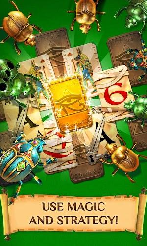 16 Pyramid Solitaire Saga App screenshot