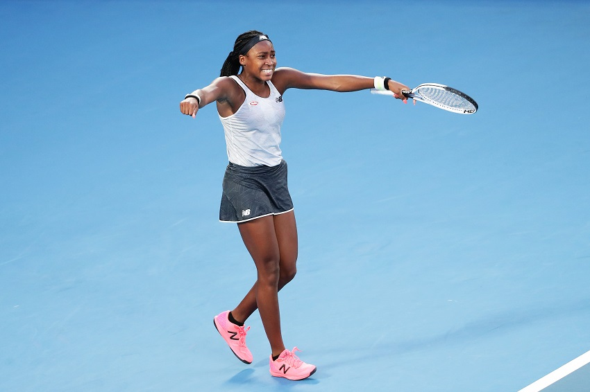 Teenager Coco Gauff ends Naomi Osaka's title defence in Melbourne - SowetanLIVE