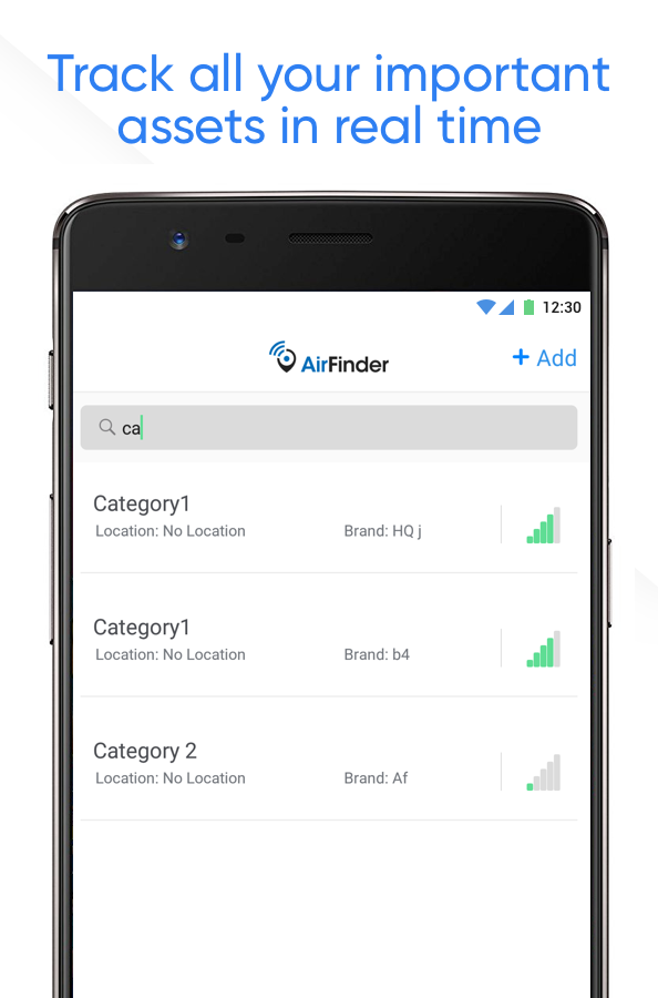 AirFinder- screenshot