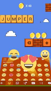 Super Jumper Bricks Keyboard Theme - náhled