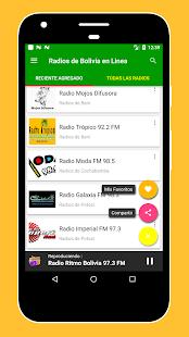 Radios FM Bolivia / Radio Bolivia - Online Radios - náhled