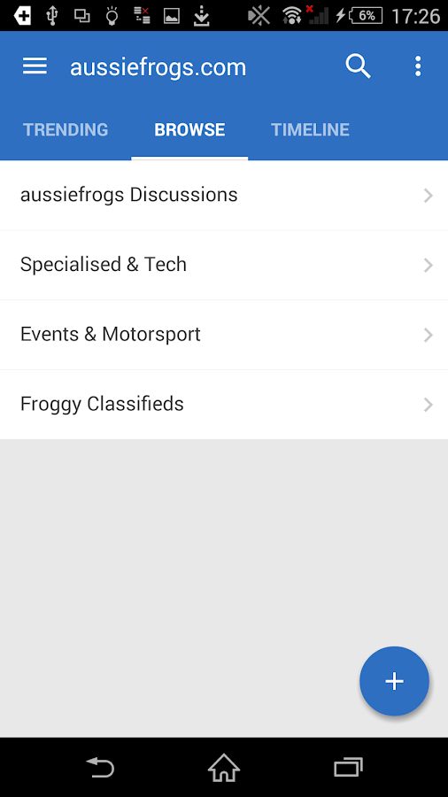 aussiefrogs French Car Forum- screenshot